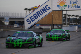 Extreme Speed Ferraris, Sebring testing February 2010