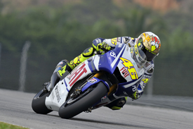 Valentino Rossi, Yamaha, Sepang testing 2010