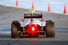 Mercedes GP car