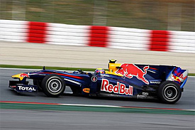 Mark Webber, Red Bull, Barcelona testing