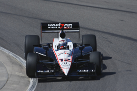 Will Power, Penske, Barber testing February 2010