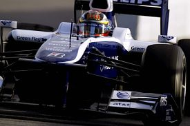 Williams Hulkenberg Barcelona 2010