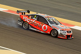 Bahrain winner Jamie Whincup, 2010