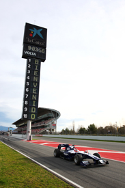 Rubens Barrichello, Williams, Catalunya testing February 2010