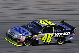 Las Vegas winner Jimmie Johnson, 2010