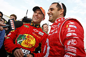 Jamie McMurray and Juan Pablo Montoya, 2010