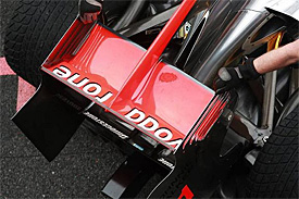 McLaren rear wing