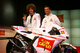 Gresini Honda 2010 launch