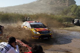 Petter Solberg, Solberg Citroen, Rally Mexico 2010