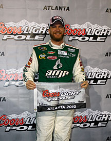 Atlanta polesitter Dale Earnhardt Jr, 2010