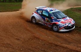 Kris Meeke, Peugeot UK, Rally of Curitiba 2010