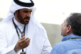 Mohammed Ben Sulayem and Jean Todt