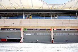 HRT garage in Bahrain
