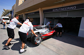McLaren MP4-25, Bahrain
