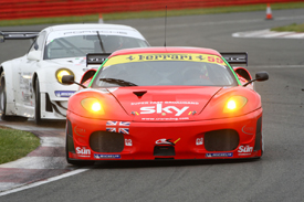 CRS Ferrari, FIA GT Silverstone 2009