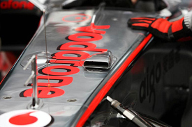 McLaren MP4-25 vent