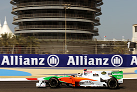 Adrian Sutil, Force India, Bahrain GP