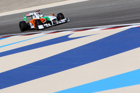 Adrian Sutil, Force India, Sakhir 2010