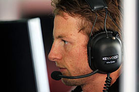 Jenson Button, McLaren, Bahrain 2010