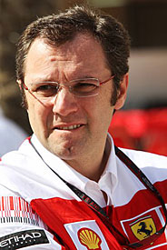 Stefano Domenicali, Ferrari, Bahrain 2010