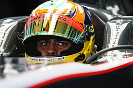 Karun Chandhok, HRT, Bahrain 2010
