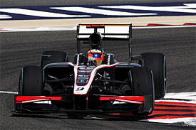 Karun Chandhok, HRT, Bahrain GP