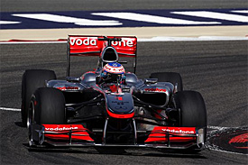 Jenson Button, McLaren, Bahrain GP