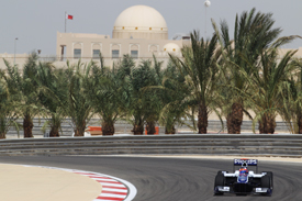 Rubens Barrichello, Williams, Sakhir 2010