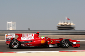 Felipe Massa, Ferrari, Sakhir 2010