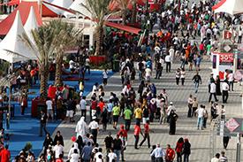 Bahrain fans