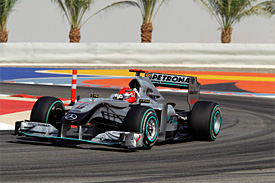 Michael Schumacher, Mercedes, Bahrain GP