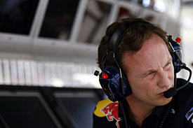 Christian Horner, Red Bull, Bahrain 2010
