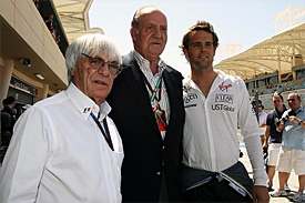 Bernie Ecclestone and King Juan Carlos