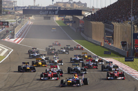 The start was as exciting as the Bahrain GP got