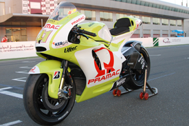 2010 Pramac Ducati launch