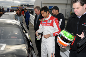 Narain Karthikeyan, ARCA test