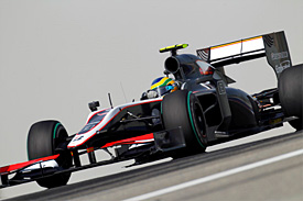 Bruno Senna, HRT, Bahrain GP