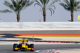 Robert Kubica, Renault, Bahrain GP