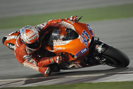 Casey Stoner, Ducati, Losail testing March 2010