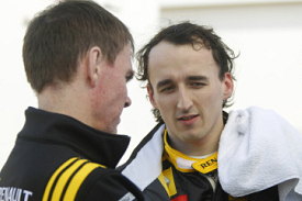 Alan Permane and Robert Kubica