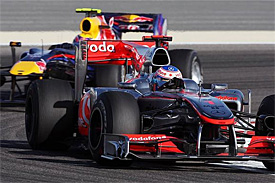Jenson Button, Mark Webber, Bahrain GP