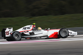 Pastor Maldonado, Rapax, Ricard testing March 2010