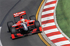 Timo Glock, Virgin, Australian GP