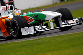 Adrian Sutil, Force India, Australian GP
