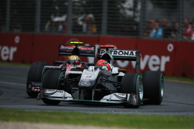 Michael Schumacher, Mercedes, Melbourne 2010