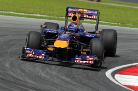 Sebastian Vettel, Red Bull, Sepang 2010
