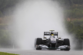 Nico Rosberg, Mercedes, Sepang 2010
