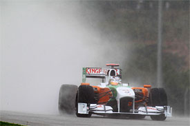 Adrian Sutil, Force India, Malaysian GP