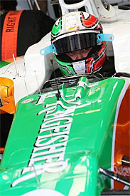 Tonio Liuzzi, Force India, Australian GP
