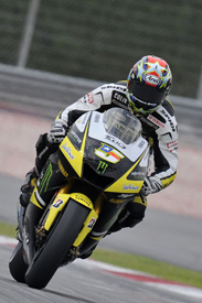 Colin Edwards, Tech 3 Yamaha, Sepang testing 2010